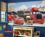 Disney Cars - Friends to the Finish Prepasted Mural Behangposter