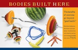 Bodies Built Here Poster Posters