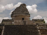 El Caracol Observatory Temple in the Ancient City of Chichen Itza Photographic Print by Vlad Kharitonov