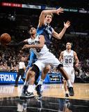 2014 NBA Playoffs Game 2: Apr 23, Dallas Mavericks vs San Antonio Spurs - Patty Mills Photo by Garrett Ellwood
