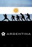 Brazil 2014 - Argentina Pôsters