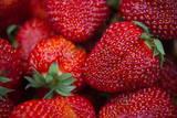 A Close-Up View of Strawberrie Fotografie-Druck von Wojciech Pacewicz