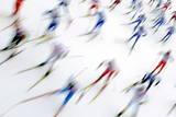 Mens' 50 Km Mass Start Fotografie-Druck von Filip Singer