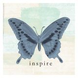 Butterfly Inspire Poster von Taylor Greene