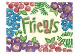 Friends, TV Láminas por Erin Butson