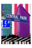 NY 5th Ave Plakater af Marilu Windvand