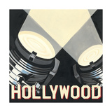 Hollywood Affiche par Marco Fabiano