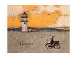 A Lovely Light, Nantucket Giclee-trykk av Sam Toft