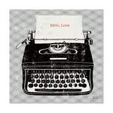 Vintage Analog Typewriter Prints by Michael Mullan