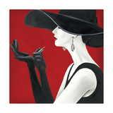 Haute Chapeau Rouge II Kunstdrucke von Marco Fabiano
