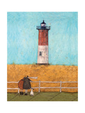 Feeling the Love at Nauset Light Giclee Print by Sam Toft