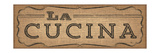 La Cuisine Burlap III Premium Giclee Print by  Pela