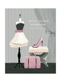 Dress Fitting Boutique I Giclée-Premiumdruck von Marco Fabiano