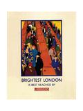 Brightest London Reproduction procédé giclée