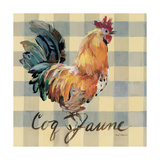 Coq Jaune Art by Marilyn Hageman
