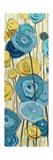 Lemongrass in Blue Panel II Prints by Shirley Novak