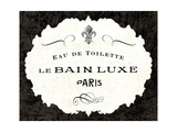 Le Bain Luxe I Poster by Sue Schlabach