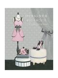 Dress Fitting Boutique IV Giclée-Premiumdruck von Marco Fabiano