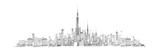 Skyline von New York Giclée-Premiumdruck von Avery Tillmon