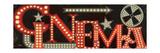 Movie Lights I Reproduction giclée Premium par  Pela Design