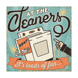 The Cleaners II Reproduction giclée Premium par  Pela Design