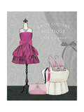 Dress Fitting Boutique II Premium Giclee Print by Marco Fabiano