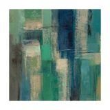 Emerald Fields Square I Prints by Silvia Vassileva