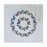 Butterfly Circle Giclee Print by Howard Shooter