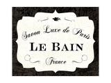 Le Bain Luxe II Prints by Sue Schlabach