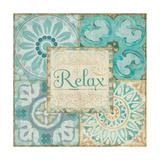 Ocean Tales Tile VI Prints by  Pela