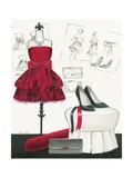 Dress Fitting II Giclée-Premiumdruck von Marco Fabiano