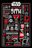 Star Wars - Dark Side Icongraphic Poster