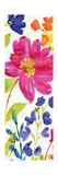 Floral Medley Panel I Reproduction giclée Premium par Hugo Wild