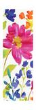 Floral Medley Panel I Premium Giclée-tryk af Hugo Wild