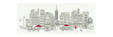 World Cafe Panel III Giclée-Premiumdruck von Avery Tillmon