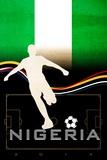 Brazil 2014 - Nigeria Poster