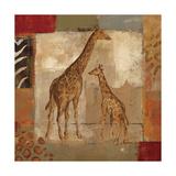 Animals on Safari IV Kunstdrucke von Silvia Vassileva