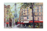Springtime in Paris Premium Giclee Print by Hageman Marilyn