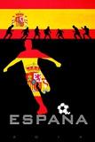 Brazil 2014 - Spain Kunstdrucke