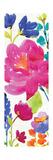Floral Medley Panel II Premium Giclée-tryk af Hugo Wild
