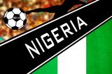 Brazil 2014 - Nigeria Plakat