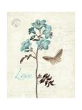 Slated Blue I Premium Giclee-trykk av Katie Pertiet