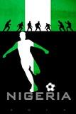 Brazil 2014 - Nigeria Posters
