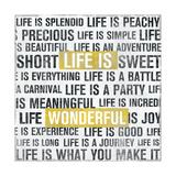 Life Is Yellow Print by Michael Mullan