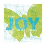 Letterpress Joy Arte por Sue Schlabach