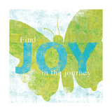 Letterpress Joy Posters by Sue Schlabach