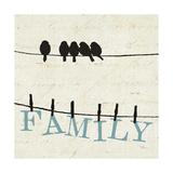Bird Talk III Stampe di  Pela Design