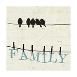 Bird Talk III Print by  Pela Design