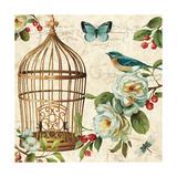 Free as a Bird II Posters af Lisa Audit