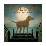 Moonrise Yellow Dog Posters tekijänä Ryan Fowler